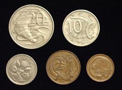 Australian Decimal Coins & Banknotes